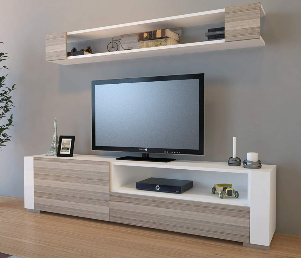 Sala Para Tv Moderna.Modelos De Centro De Entretenimientos Modernos 2019
