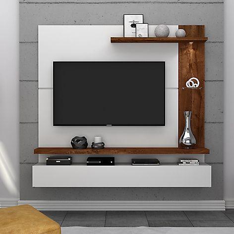 hacer mueble tv madera Cmo Hacer Tu Centro De Entretenimiento Flotante Moderno